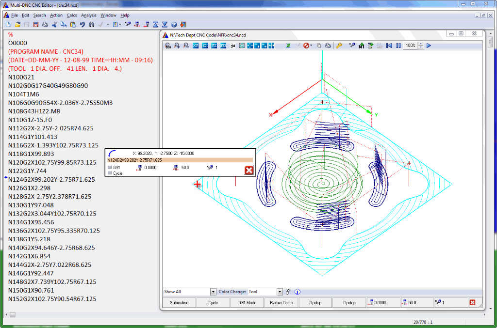 CNC Editor